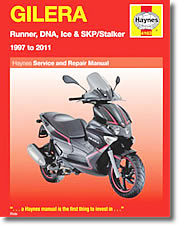 Gilera Runner, DNA, Ice et SKP