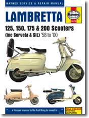 Lambretta 125, 150, 175 et 200 cm³
