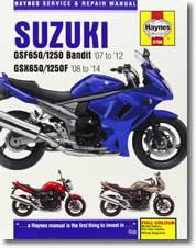 Suzuki GSF 650 Bandit et GSX 650 F