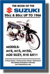 Suzuki 50 cm³ et 80 cm³