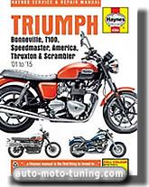 Triumph 790 et 865 cm³ jusqu'à 2007
