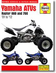 Yamaha Raptor 660 et 700