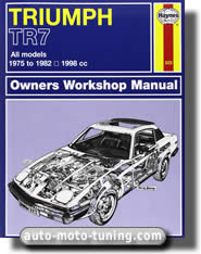 Revue technique automobile Triumph TR7