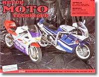 Revue moto technique Aprilia 125 AF 1 et Red Rose