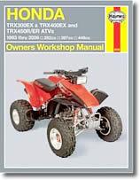 Honda TRX300EX, 400, 450