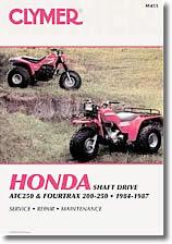 Honda Fourtrax 200, 250 et ATC 250