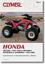 Honda TRX, Fourtrax, Sportrax 250, 300