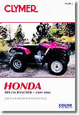 Honda TRX350 FourTrax Rancher