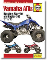 Yamaha Banshee, Warrior, Raptor, 350