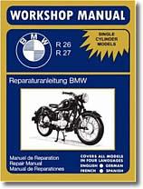 Revue technique BMW Flat Twin (mono cylindre) R 26 et R 27