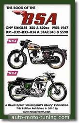 BSA 350 et 500 cm³