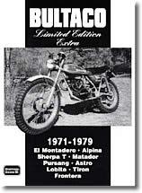 Bultaco Édition limitée de 1971 à 1979