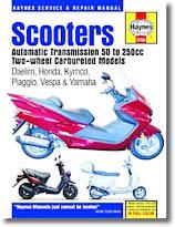 Manuels d'atelier des Scooters Daelim