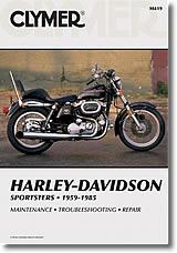 Harley-Davidson Sportster de 1959 à 1985