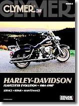 Harley-Davidson FLH, FLT, FXR Evolution