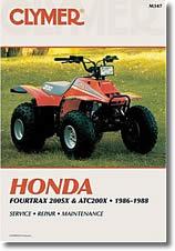 Honda Fourtrax 200SX et ATC 200X