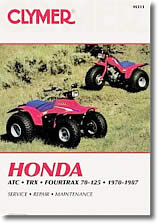 Honda Fourtrax, TRX, ATC 70, 90, 110, 125