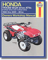 Honda TRX300, TRX300FW, Shaft Drive