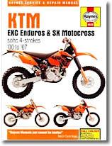 KTM EXC Enduros et SX Motocross