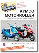 Scooter Kymco 50 à 125cc
