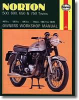 Norton 500, 600, 650 et 750 cm³