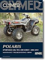 Polaris Sportsman 600, 700 et 800 cm³
