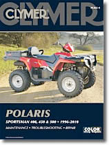 Polaris Sportsman 400, 450 et 500 cm³