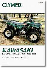 Quad Kawasaki Bayou KLF 220, KLF 250 (1998 à 2003)
