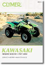Quad kawasaki KSF 250 Mojave