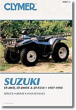 Quad Suzuki LT-4WD, LT-F250, LT-F4WDX