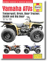 Yamaha Timberwolf, Bruin, Bear Tracker, Big Bear
