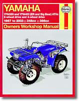 Yamaha YFM 350 et YFM 400 (ER et Big Bear)