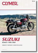Manuel d'atelier Suzuki GS 650