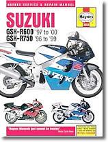Suzuki GSXR 600 et GSX R750 (1996-2000)