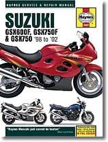 Suzuki GSX 600 F, GSX 750 F, GSX 750