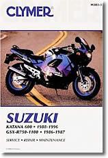Suzuki GSXR 750 et GSX600F Katana