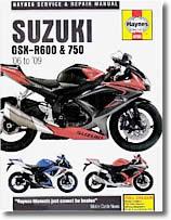 Suzuki GSXR 600 et GSXR 750 de 2006 à 2009