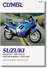 Suzuki GSXR 750 et GSX 750F Katana