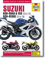 Suzuki GSXR 600 et GSX R750 (2004 et 2005)