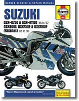 Suzuki GSX 600 F, GSX 750 F et GSXR 750