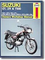 Suzuki GT, TS, ZR, 50 cm³