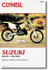 Revue technique moto Suzuki RM 250