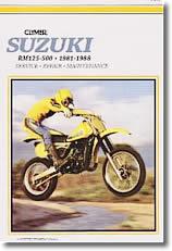 Suzuki RM125, 250, 465, 500