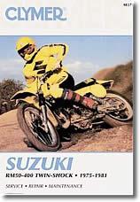 Revue technique moto Suzuki RM 50 à 370
