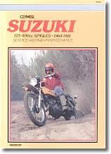 Suzuki RL, TC, TM, TS, 125, 185, 250 et 400 cm³