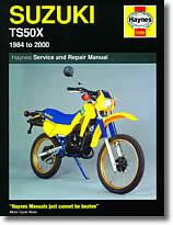 Revue technique moto Suzuki TS50X