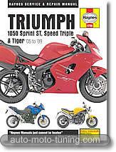 Triumph Sprint ST, Speed Triple, Tiger, 1050 cm³