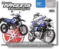 Triumph bicylindre 790 et 865 cm³