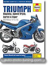 Triumph 3 cylindres 885 et 955 cm³