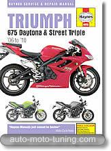 Triumph Daytona et Street Triple 675 cm³